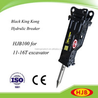 Box Silenced Hydraulic Breaker, Pneumatic Jack Hammer for Excavators with HJB100