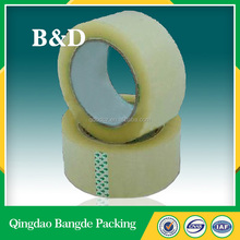 Free sample strong adhesive 50m bopp packing tape
