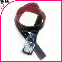 2015 New Alloy buckle fashionable leisure customize man leather belt