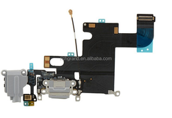 Audio Jack USB charging port dock connector flex cable for iphone 6 4.7'