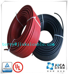 TUV approved solar 6mm2 tuv 2pfg 1169 cable for photovoltaic solar panels