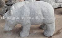 stone hippo carving