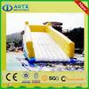 Contemporary stylish inflatable floating slide