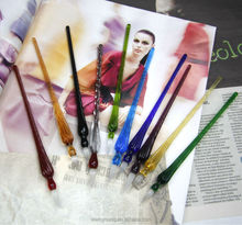 promotion glass pen set for with ten colors to choose