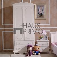 Hongjin Wooden Bedroom Furniture 2 Door + 2 Drawers Wardrobes