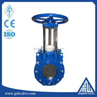 ductile iron Knife gate valve with non-rising stem