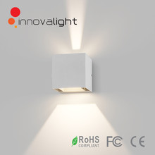 INNOVALIGHT square 2*3w outdoor wall mount led light