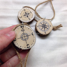 laser cutting star compass shape wood crafts/souvenir christmas wood ornaments 2015