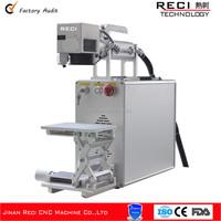 Big promotion! toilet pedestal pan fiber laser marking machine 10w 20w 30w