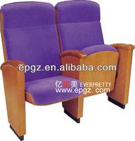 Luxury Auditorium chair furniture, auditorium church chair, auditorium hall seating