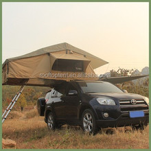 High quality 2--3 peoples OEM service waterproof fiberglass car roof top tent