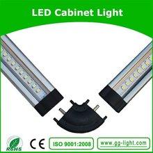 super slim/trigonal shape 100cm LED cabinet light puck size with ir sensor switch