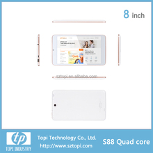 S88 MTK8127 Quad Core 8 Inch Android 4.2 Tablet