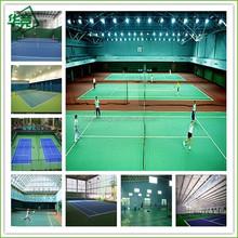 PVC Indoor Badminton Court Sports Flooring/ Used Court Sports Flooring