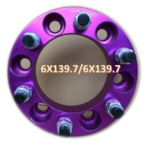 "6X5.5 6x139.7 to 6x139.7 1.0"" Wheel Spacers 12x1.5 Studs 6Lug GMC landcrusier, Jeep Cherokee freeman Wrangler landrover, discove"