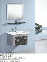 Stainless steel sanitary ware with waterproof and moistureproof