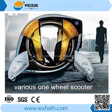 Various kinds self balancing one wheel scooter
