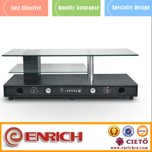 low height multifunctional wooden tv cabinet tv stand made in china
