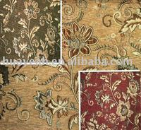 jacquard upholstery curtain fabric