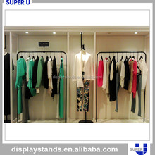 professional design and manufacture clothes display coat rack iron