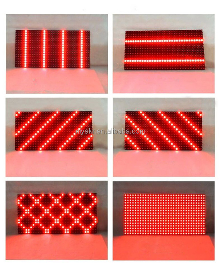 p10 red led display module 59