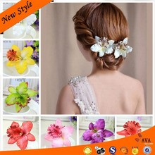 Exquisite Thailand's Butterfly Orchid Fancy Hair Bands