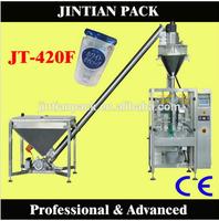 JT-420F fully automatic powder packing machine/wheat flour/coffee powder form fill seal machinery