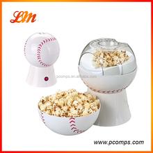 Best Seller Automatic Popcorn Making Machines Baseball Style 220V