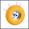 Heavy duty Free sample pu foam small rubber wheels for sale