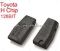 Car transponder chip 128 bit toyota h chip key