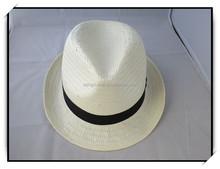 Fashion Design fedora straw hat cheap