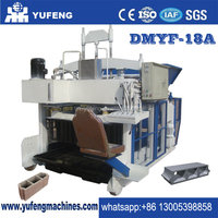 China top manufacture DMYF-18A mobile concrete block machine for sale