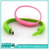 Silicon Bracelet USB,Wristband USB Drive,USB Memory Stick