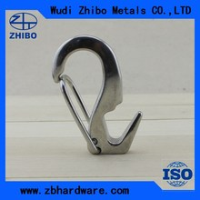 S snap hook with split end made in stainless steel for sale