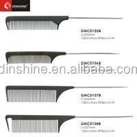 high quanlity profession plastic comb/hair cutting comb