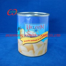 Usa canned food supplier, canned pear halves in light syrup with private label