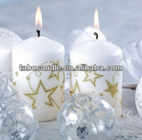 christmas decorative taper candles