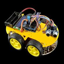 Intelligent Bluetooth Car Tracking / Electronic kit/ Obstacle Avoidance Car Smart Car Kit Diy Kit versatile platform