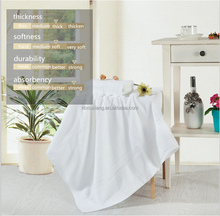 Manufacturer wholesale very soft and thick 100% cotton hotel terry towel for home/beach/spa