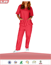 Fashion Natural Uniforms Unisex 6 Pocket Scrub Set/Hospital Uniform