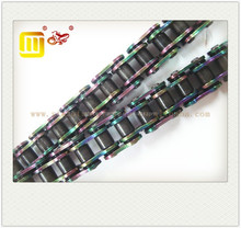 motorcycle colored O-ring 428H 520H chain top quality (O ring chain)