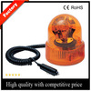 Car 12V/24V rotating light, waterproof amber rotating beacon light with magnetic base