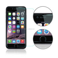 China manufatuer supply clear 9H 0.33mm Anti-Oil Premium Real 2.5 D tempered glass screen protector for iPhone 6