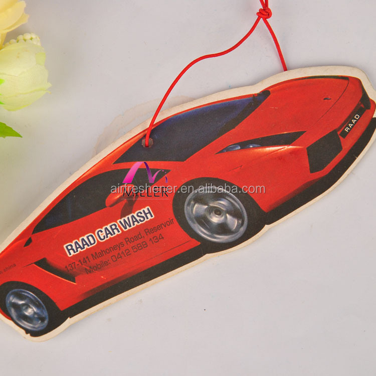 Promotion Gift Paper Air Freshener For Fashionable Jewelry Decoration China Supplier