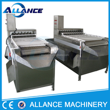 2 ALMY-10000 Good price SUS Hard Boiled Hen Eggs Peeling Machine Large capacity