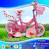 "pink color 12"" eva tyre bikes kids toy bicycles with doll seat,bag, helmet, bicicletas"