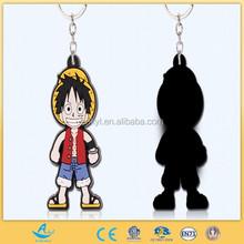 OEM Key Chain Customized Cartoon Toy Key Ring