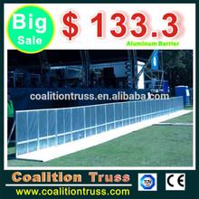 prezzo di fabbrica di alluminio produzione di barriere di sicurezza