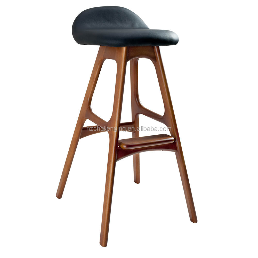 Bs005 Modern Wooden Bar Stool Parts Designs Buy Bar