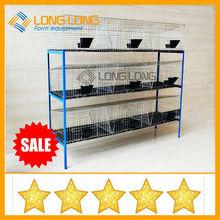 utilizado jaulas de conejos para la venta de conejo de granja cría de conejo jaula